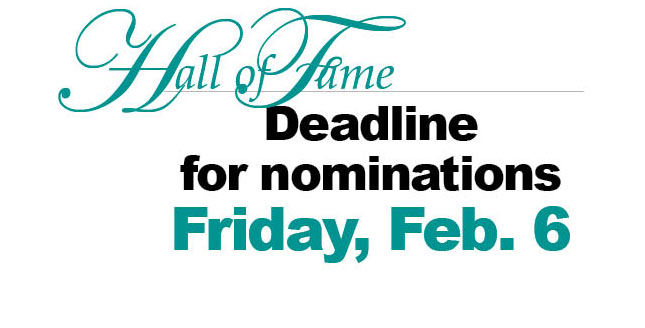 School district seeking Hall of Fame nominees