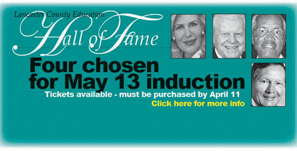 Luncheon to honor inductees Tuesday, May 13
