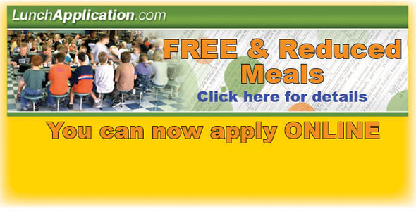 Apply now online for FREE & reduced meals