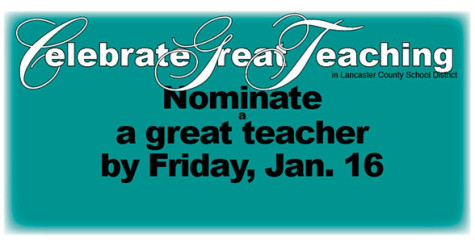 Celebrate Great Teaching nominations