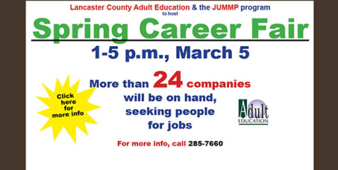 Looking for a job? Don't miss Spring Career Fair