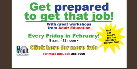 FREE job-search skills workshops Fridays in February
