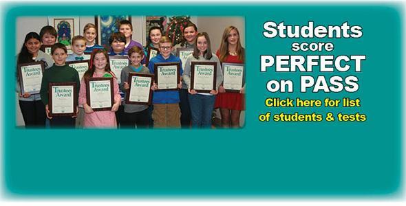 37 students score perfect on PASS