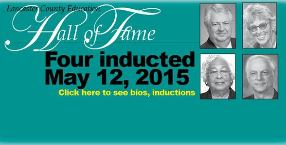 Four inducted into Education Hall of Fame