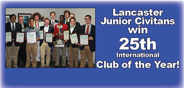 Club wins 19 state & international awards