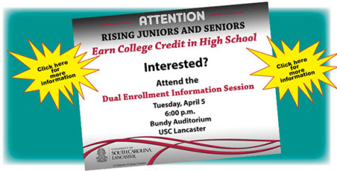 Dual enrollment information session April 5