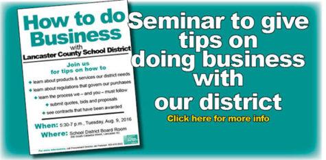 Seminar set for 5:30 – 7 p.m., Tuesday, Aug. 9
