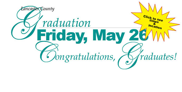 Seniors to receive diplomas Friday, May 26