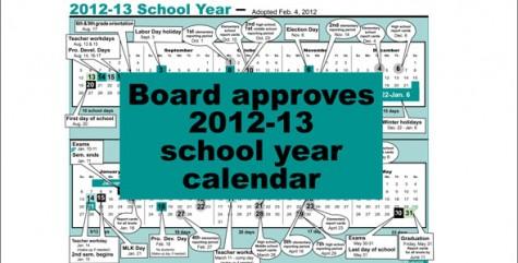 2012-13 calendar begins Aug. 20