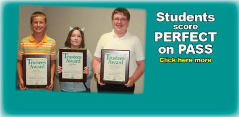 Students score perfect on PASS
