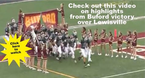 Buford defeats #2 Lewisville 38-20