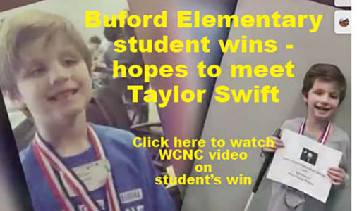 Buford student wins Braille reading contest for second year