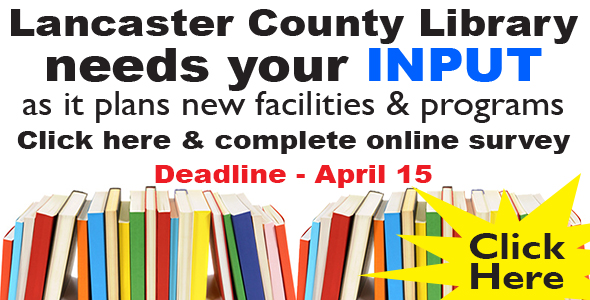 Help our county library better serve YOU!