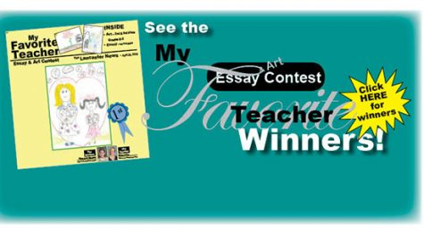"See 2018 ""My Favorite Teacher"" publication – click here"