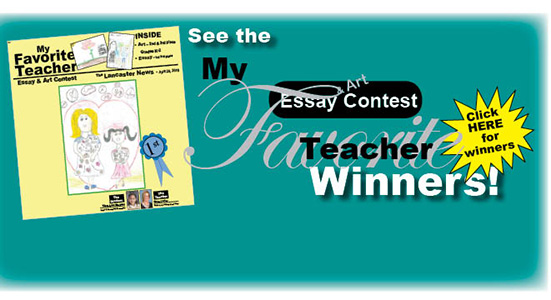 """See 2018 """"My Favorite Teacher"""" publication – click here"""
