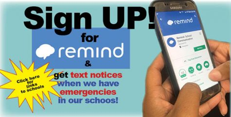 Sign up today! Help us help you stay informed