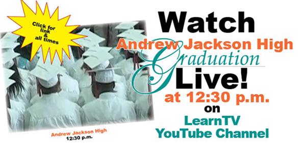 157 Andrew Jackson High seniors graduate today
