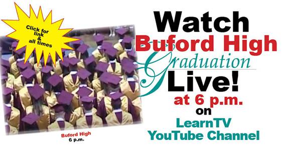 162 Buford High seniors graduate today