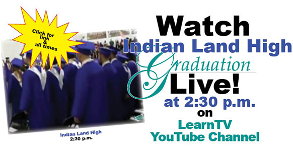 221 Indian Land High seniors graduate today
