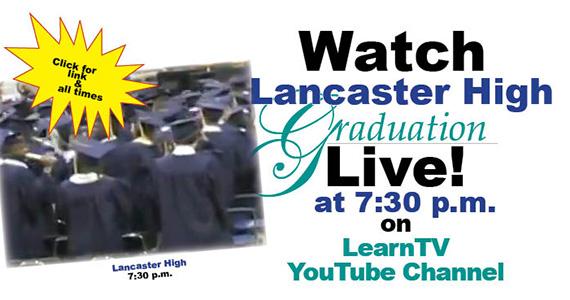 317 Lancaster High seniors graduate today