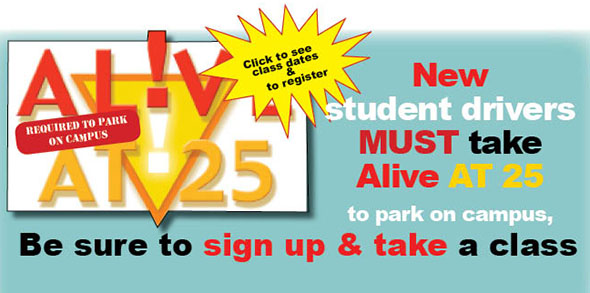 Alive at 25 classes April 27 & May 25 at Buford High