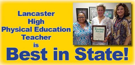 Teacher Kim Perry earns state's top award