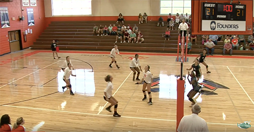 Watch Andrew Jackson vs.Lancaster volleyball – 1st season match