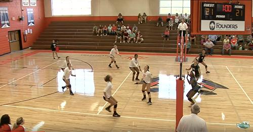 Watch Andrew Jackson vs.Lancaster volleyball - 1st season match