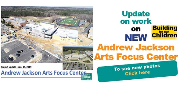 Andrew Jackson Arts Focus Center to open Fall 2019