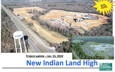 New Indian Land High set to open Fall 2020