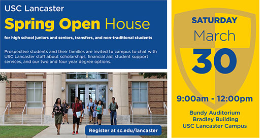 USC-L Open House for high school juniors and seniors