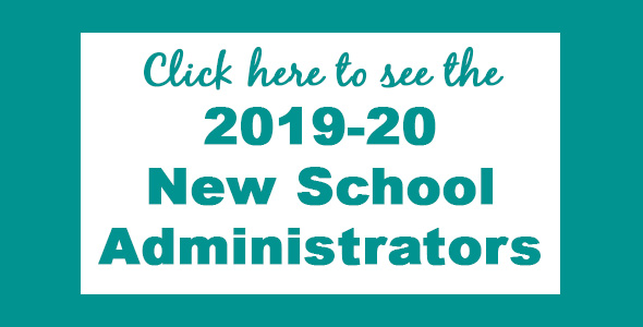 2019-20 New School Administrators