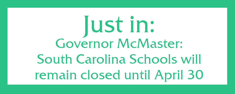 Schools remain closed until April 30
