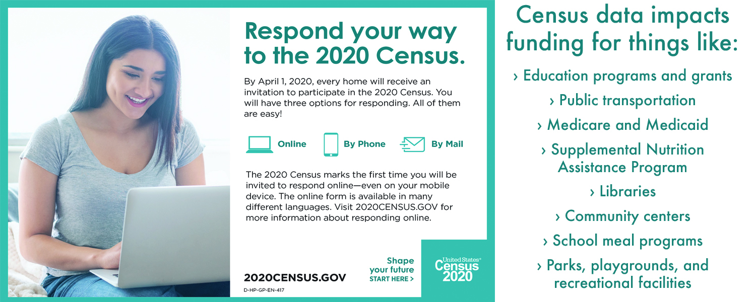 Don't forget to complete your census!