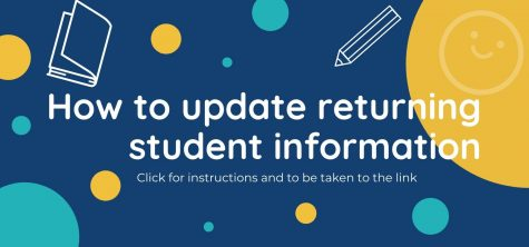 Making updates for returning students