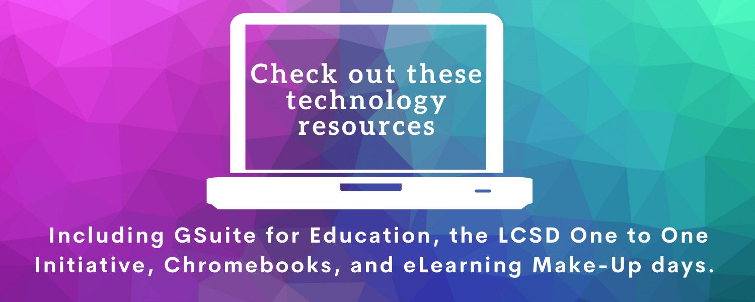 Check out these technology resources