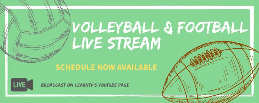 High School Volleyball, Football Live-stream calendar