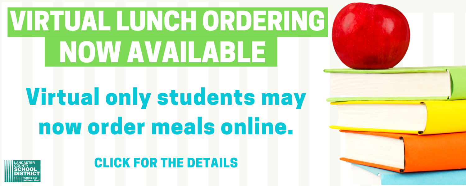Virtual students, order meals online