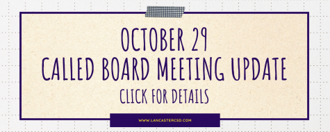 Update from October 29 Called Board of Trustees Meeting