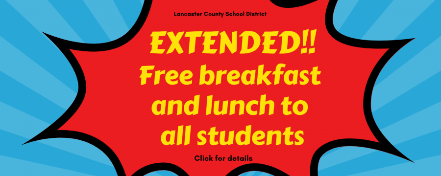 Extended free meals for students until June 2021