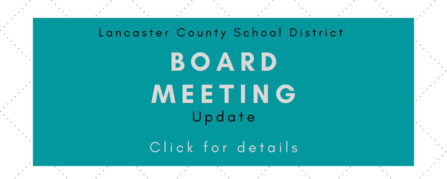 Jan. 19 Board meeting
