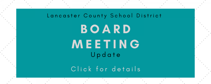 March 16 Board Meeting