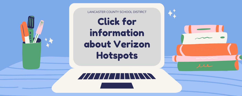 Verizon hotspots
