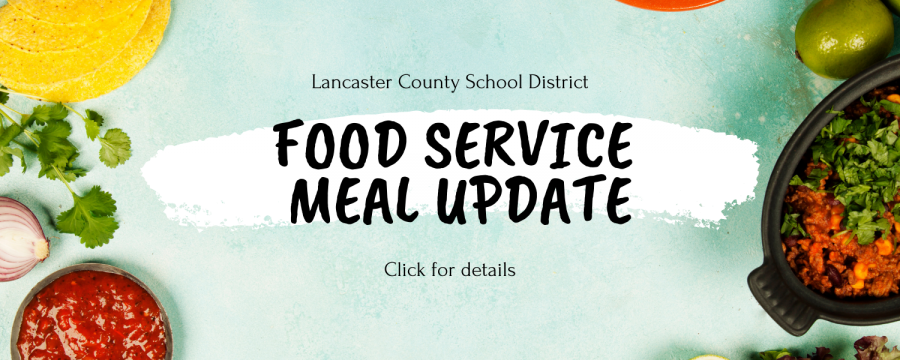 Food service updates for Spring holiday