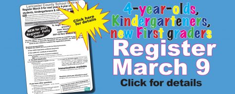 New kindergarten & new 1st grade registration