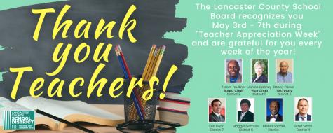 Board of Trustees thanks teachers