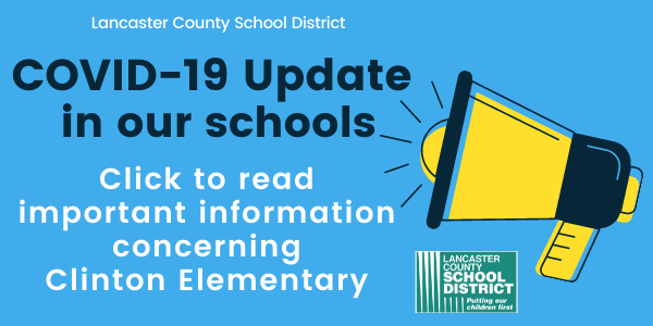 Important information concerning Clinton Elementary