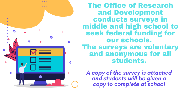 Middle and high surveys